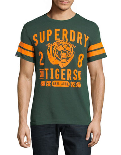 Superdry Wild Athletics Tee-GREEN-Large