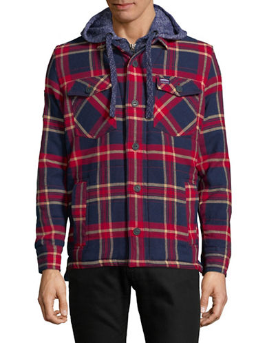 Superdry Everest Storm Cotton Jacket-NAVY-Small