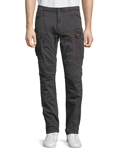 Superdry Core Cargo Lite Parachute Pants-BLACK-36