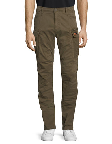 Superdry Core Cargo Lite Parachute Pants-GREEN-34