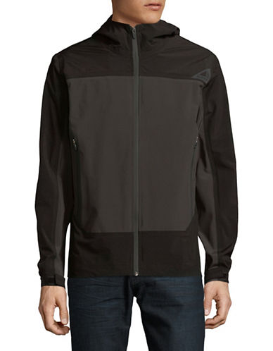 Superdry Fleet Cagoule Jacket-GREY-X-Large