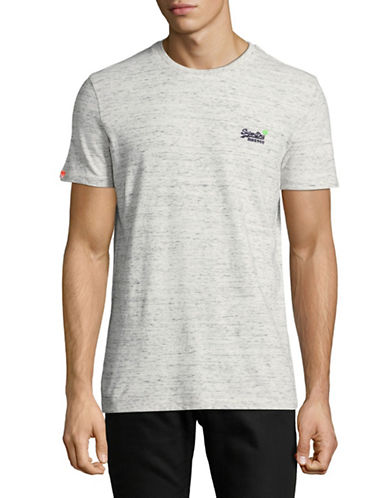 Superdry Heathered Vintage Tee-GREY-X-Large