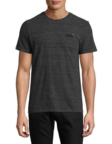 Superdry Heathered Vintage Tee-CHARCOAL-XX-Large