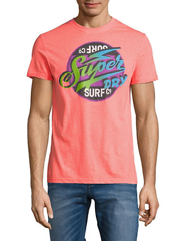 Superdry Reworked Classic Surf Lite T-Shirt-PINK-Large 90010829_PINK_Large