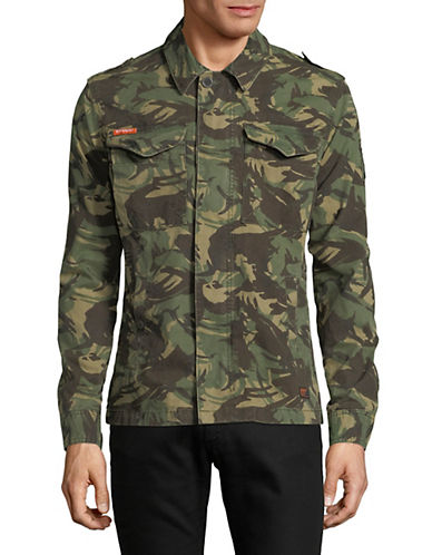 Superdry Rookie Deck Jacket-GREEN-Small 90010982_GREEN_Small