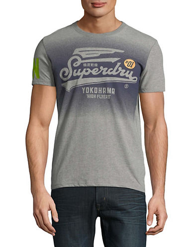 Superdry High Flyers T-Shirt-GREY-Small 90010887_GREY_Small
