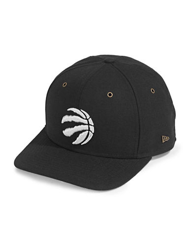 New Era Classic Toronto Raptors Baseball Cap-BLACK-One Size