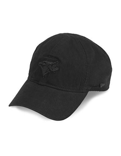 New Era Toronto Blue Jays Baseball Cap-BLACK-One Size