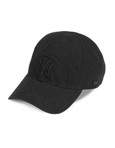 New Era New York Yankees Baseball Cap-BLACK-One Size
