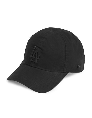 New Era Los Angeles Dodgers Baseball Cap-BLACK-One Size