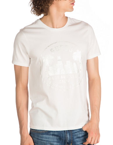 Guess City Logo T-Shirt-WHITE-Large 89279294_WHITE_Large