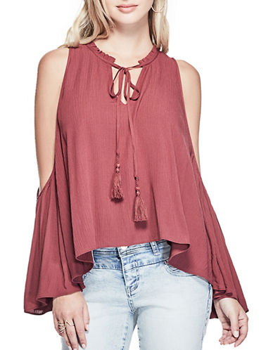 Guess Kira Convertible Top-RUBY WINE-X-Small