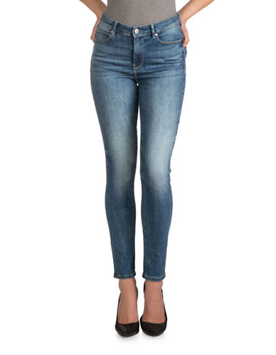 Guess 1981 High Rise Skinny Jeans-BLUE-27