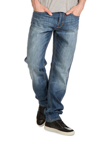 Guess Relaxed Tapered Jeans-BLUE-34