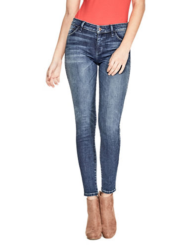 Guess Sexy Curve Skinny Jeans-BLUE-27