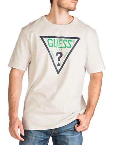 Guess Oversized Logo T-Shirt-GREY-Small