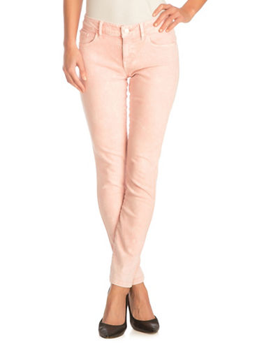 Guess Power Skinny Jeans-PASTEL PINK-31