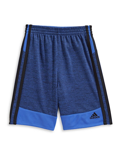 Adidas Mesh Pull-On Shorts-ROYAL-3T