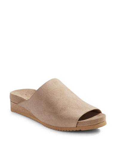 H Halston Zarah Suede Sandals-CAMEL-6