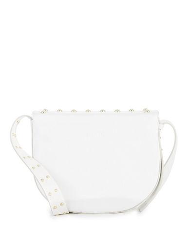 Imnyc Isaac Mizrahi Novelty Pearls Crossbody Bag-WHITE-One Size