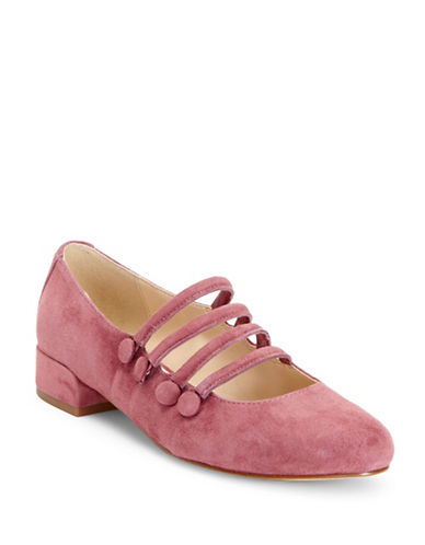 Imnyc Isaac Mizrahi Norie Cadiz Ballet Flats-ROSE TEA-7.5