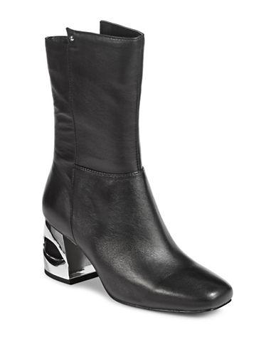 H Halston Ryan Suede Boots-BLACK-9