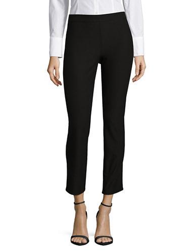 H Halston High-Rise Skinny Pants-BLACK-X-Large 89626010_BLACK_X-Large