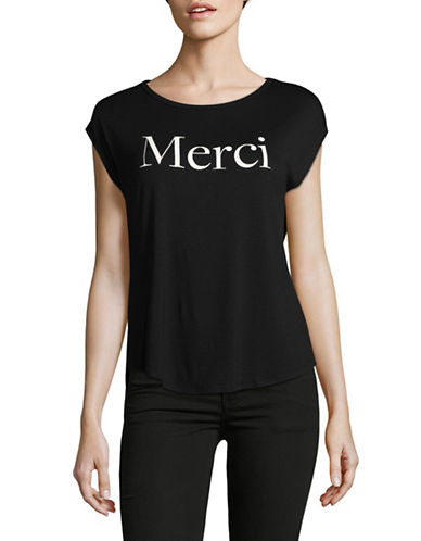 Highline Collective Merci Graphic Tee-BLACK-X-Large