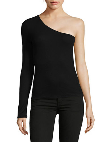 Highline Collective One-Shoulder Top-BLACK-X-Small