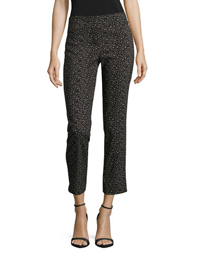 Imnyc Isaac Mizrahi Slim Tummy Tuck Pants-GREY-X-Small