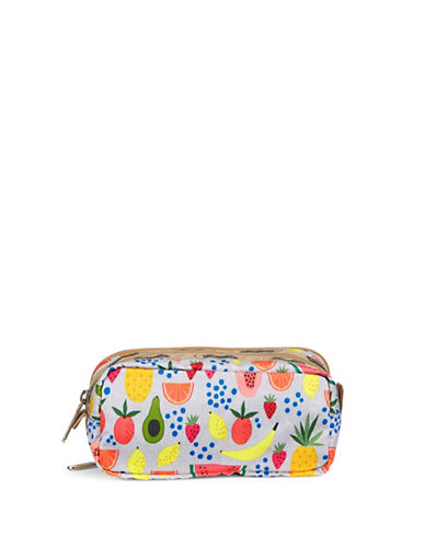 Lesportsac Kevyn Double Zip Pouch-SUMMER GREEN-One Size