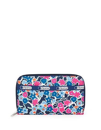 Lesportsac Lily Printed Wallet-NAVY-One Size