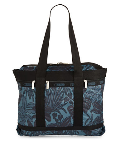 Lesportsac Medium Travel Tote-MIDNIGHT GREEN-One Size