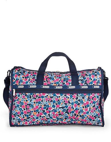 Lesportsac Large Weekender Bag-NAVY MULTI-One Size