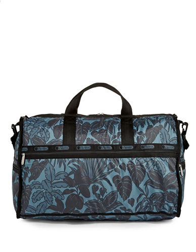Lesportsac Large Weekender Bag-MIDNIGHT GREEN-One Size