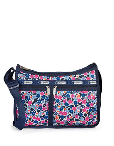 Lesportsac Printed Everyday Bag-NAVY BLUE-One Size