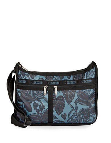 Lesportsac Printed Everyday Bag-MIDNIGHT GREEN-One Size