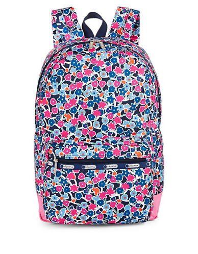 Lesportsac Essential Backpack-NAVY MULTI-One Size