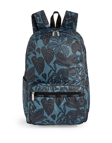 Lesportsac Essential Backpack-MIDNIGHT GREEN-One Size