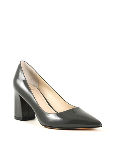 Marc Fisher Ltd Zala Patent Leather Pumps-GREY-10