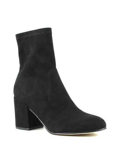 Marc Fisher Ileesia Booties-BLACK-9.5
