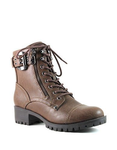 G By Guess Axxis Booties-ESPRESSO-6.5