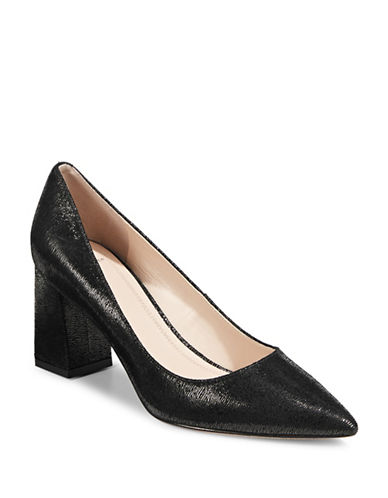 Marc Fisher Ltd Patent Block Heel Pumps-BLACK-11