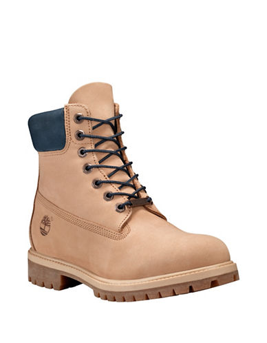 Timberland Icon Premium Leather Ankle Boots-BEIGE-13