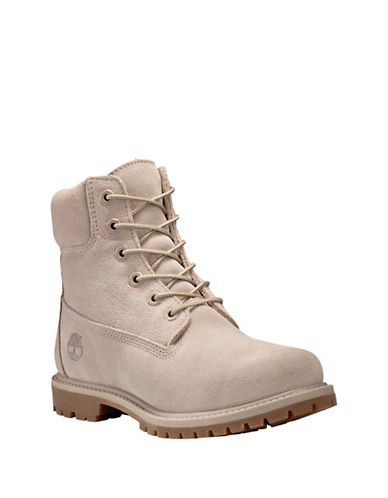 Timberland Premium Waterproof Leather Boots-TAUPE-9