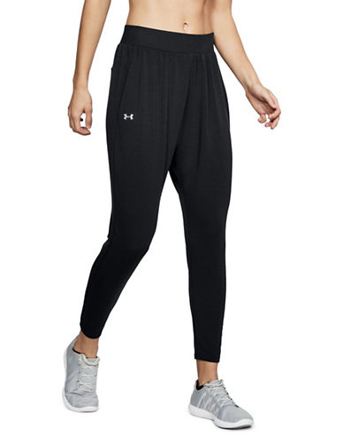 Under Armour Tapered Slouch Pants-BLACK-Large 89741237_BLACK_Large