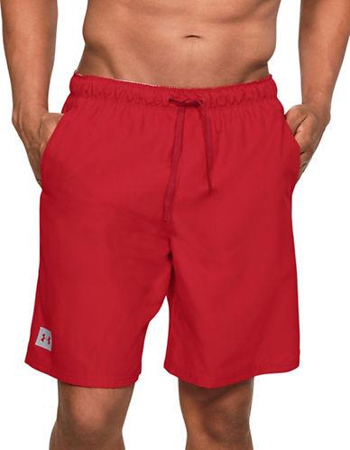 Under Armour Mania Volley Board Shorts-RED-Medium 89844134_RED_Medium