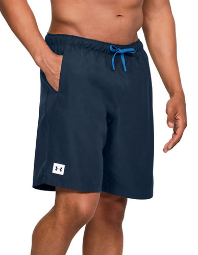 Under Armour Mania Volley Board Shorts-BLACK-Small 89824699_BLACK_Small