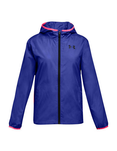 Under Armour Sack Pack Full-Zip Jacket-PURPLE-7-8