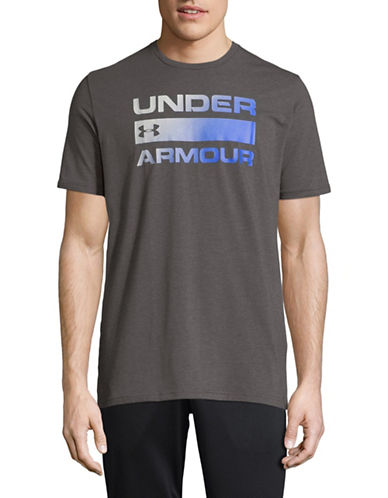 Under Armour Team Issue Wordmark Tee-GREY-X-Large 89819773_GREY_X-Large